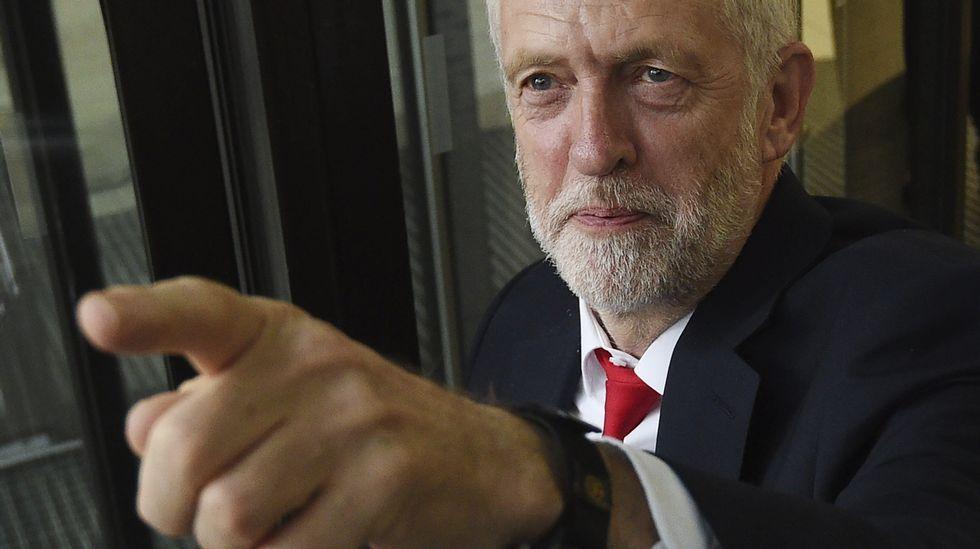 Jeremy Corbyn, exlíder del Partido Laborista