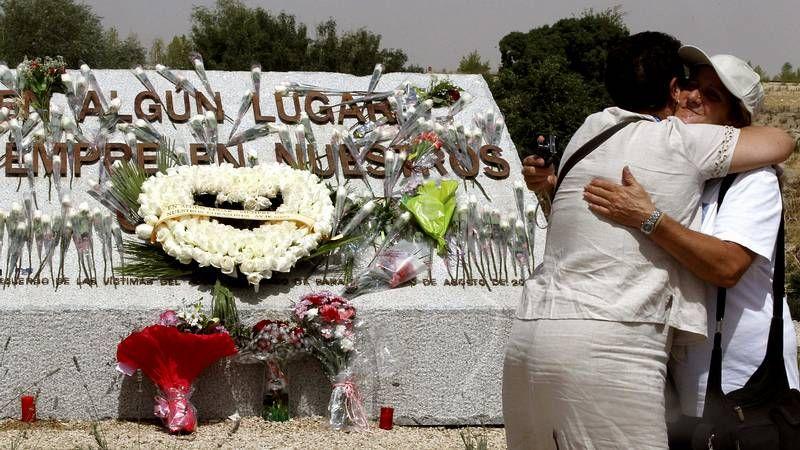 Homenaje a las víctimas del accidente de Spanair