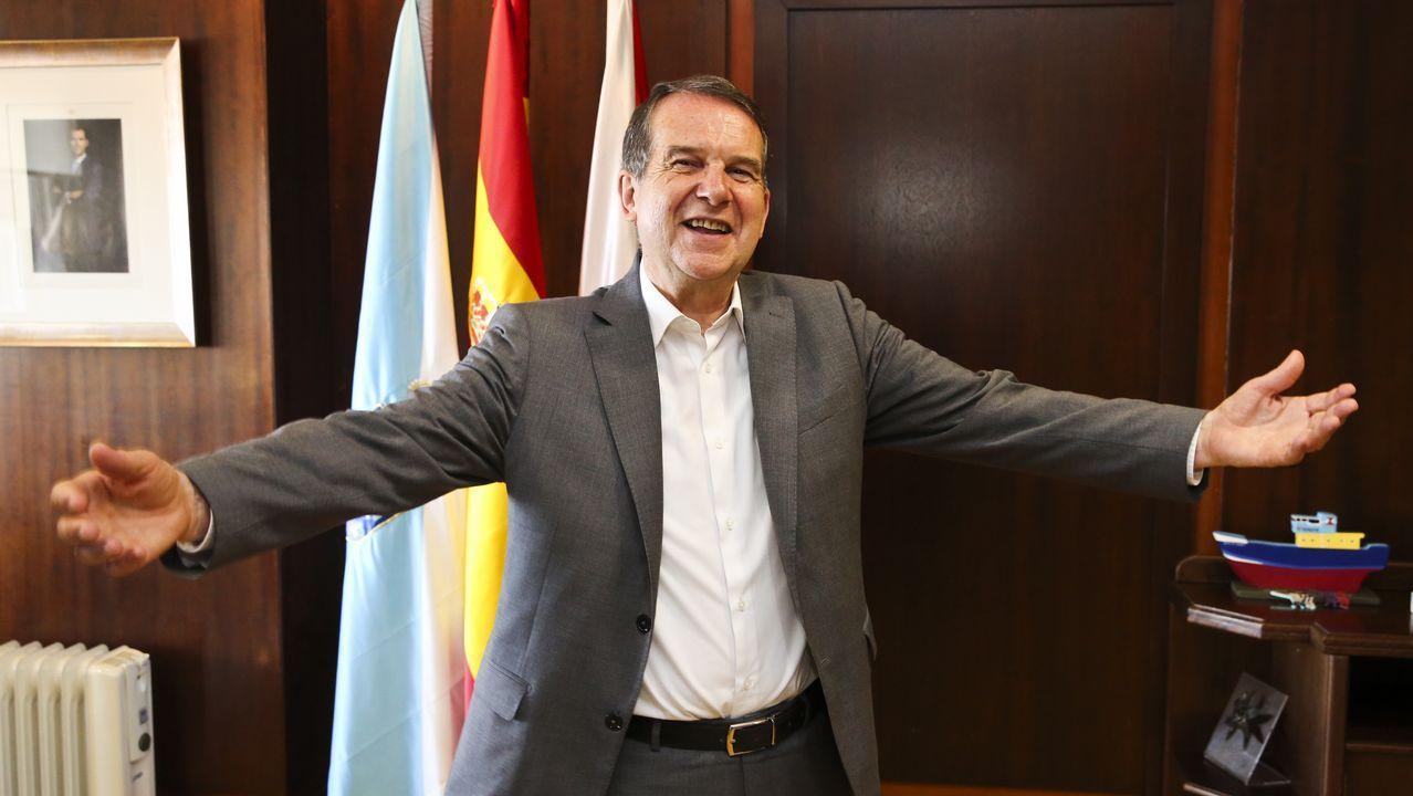 Carrillo, junto Anguita en su etapa de alcalde de Córdoba