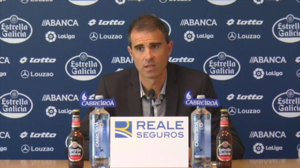 Garitano: «Tenemos un equipo compensado y de garantías, estoy contento»