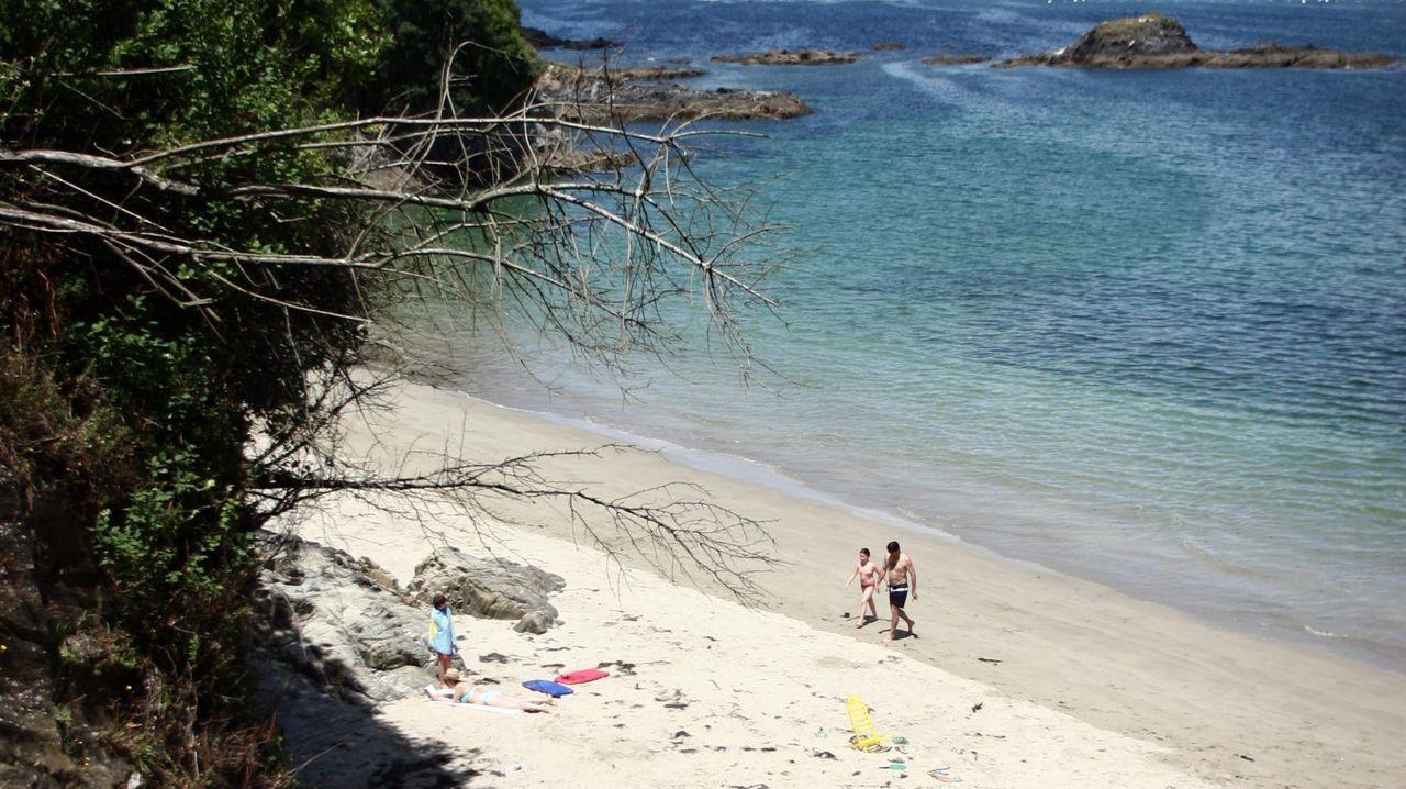 Playa de Arnela. Imagen de archivo