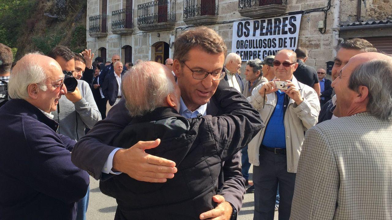 La trayectoria política de Feijoo, en imágenes.Imagen del juicio por la propiedad del pazo de Meirás, que comenzó este lunes en A Coruña