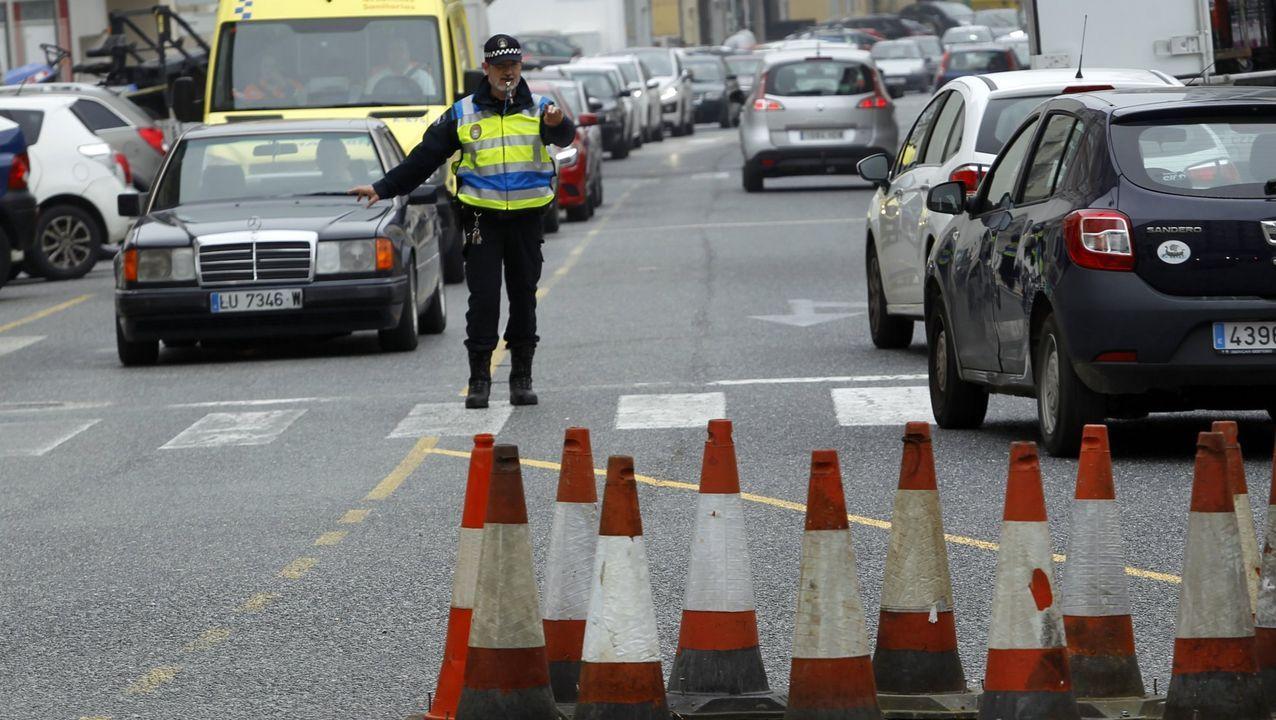 Imagen de archivo de un policía local de Foz