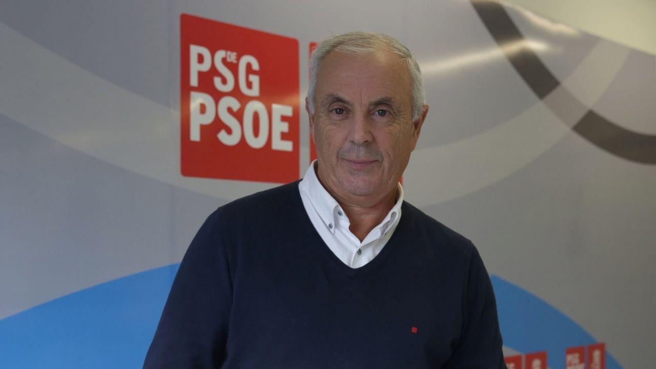 El PSOE explica las razones del relevo del portavoz del partido en la Diputación.Pachi Vázquez