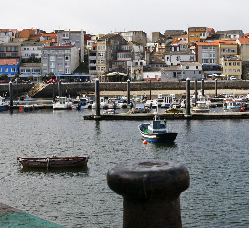 El puerto fisterrán es de los peor abrigados de la zona.
