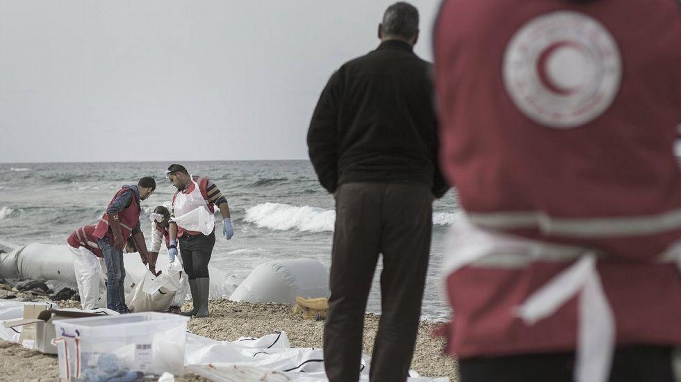 Tragedia en la costa libia
