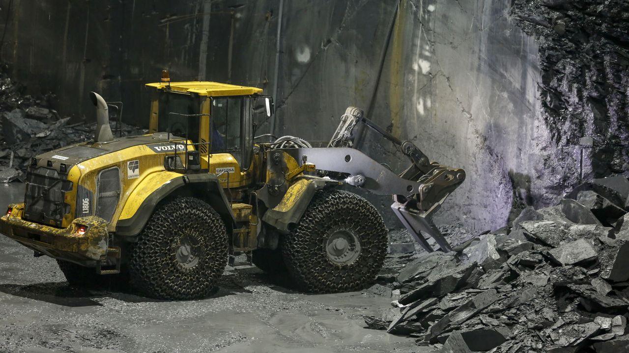 La mina de pizarra más grande del mundo está en Carballeda de Valdeorras