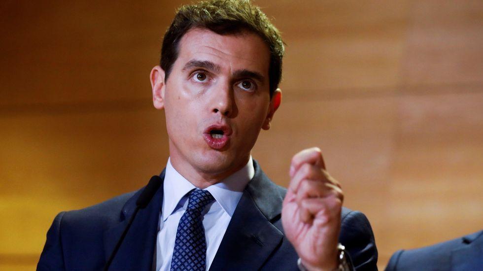 Así es Rafael Manuel Fernández Alonso, el ourensano que es candidato a la presidencia del Gobierno por el Partido Por Un Mundo Más Justo (PUM+J).Abascal reunió a unas 13.000 personas en Vistalegre