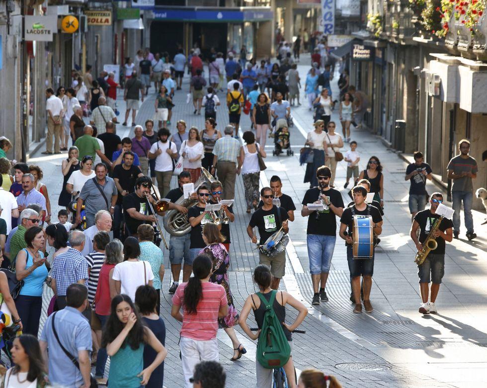 El Festival de Jazz ha llenado de música las calles de Pontevedra a lo largo de toda la semana.