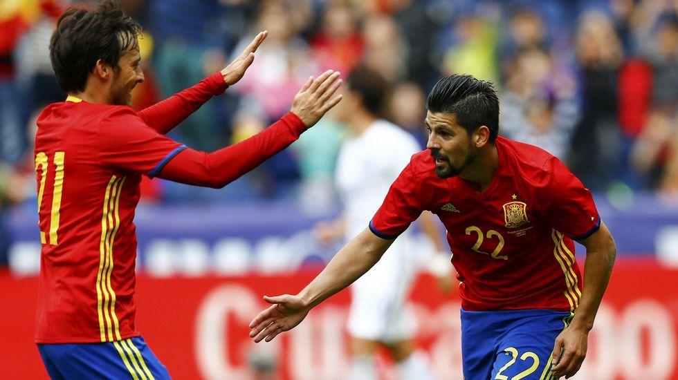 La victoria de España sobre Corea, en fotos
