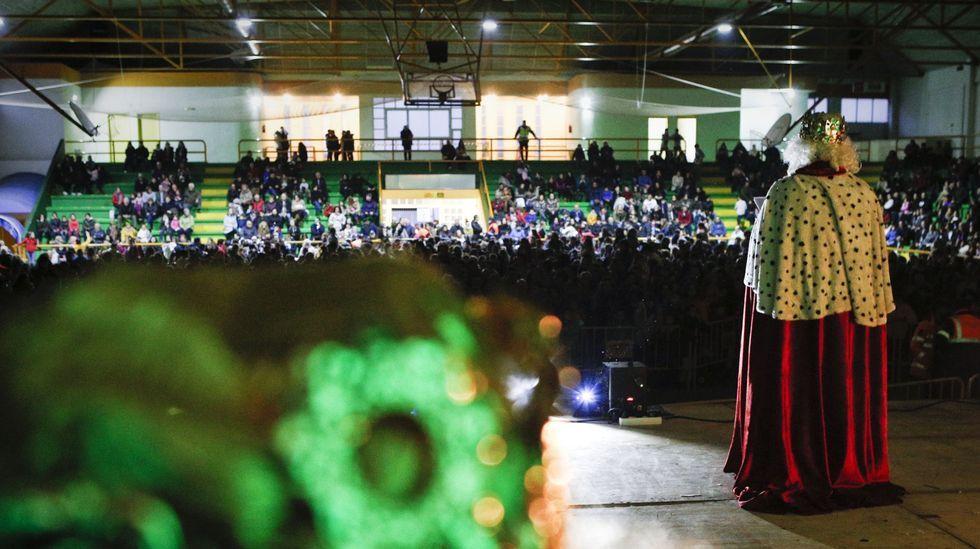 La recepción de los Reyes Magos en Verín, en una foto de archivo del 2019