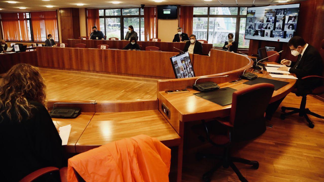 Pleno de noviembre en el Concello de Vigo