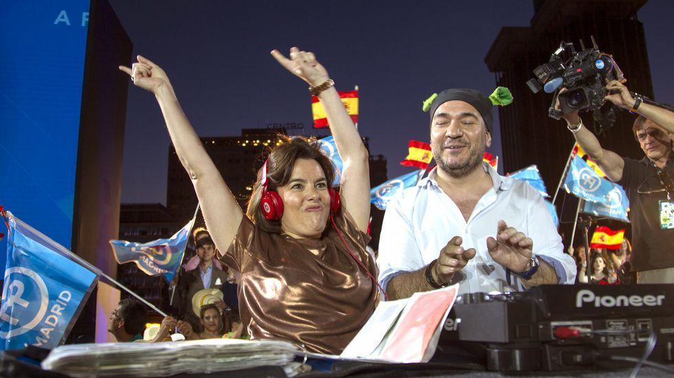 Las mejores fotos del cierre de la campaña del 26J.Gaspar Llamazares