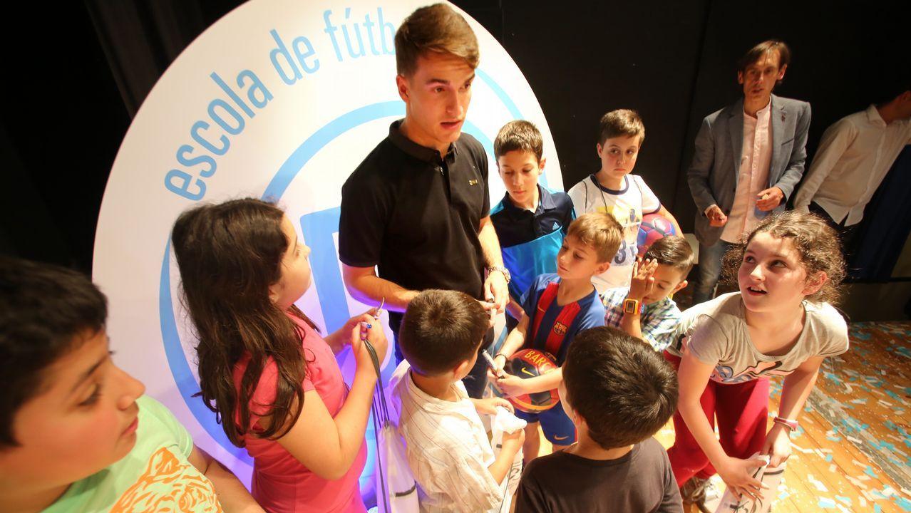 Denis Suárez, jugador gallego del FC Barcelona
