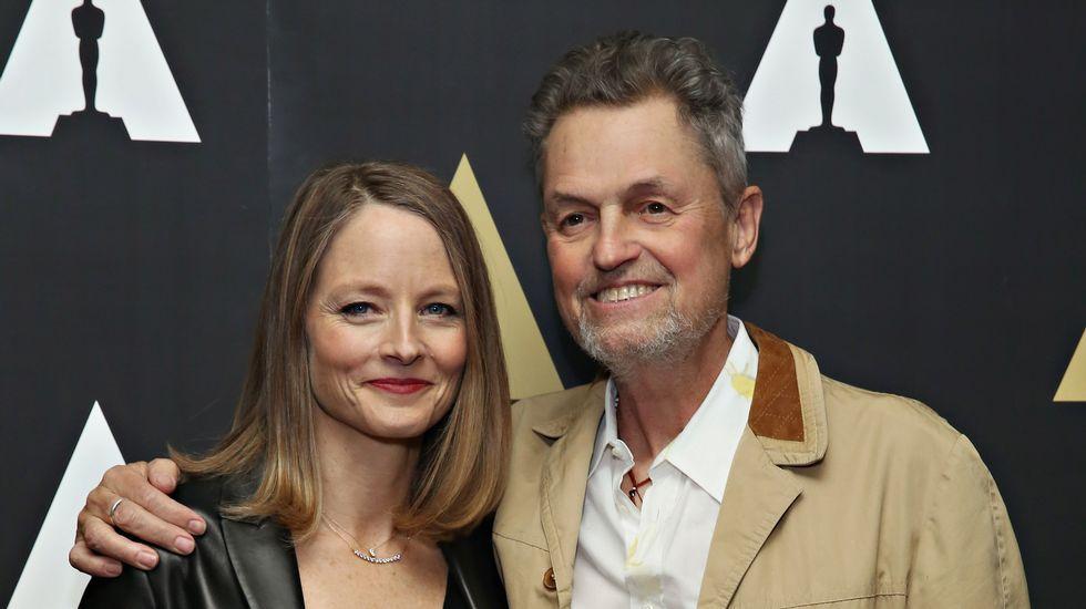 Jonathan Demme, con Jodie Foster