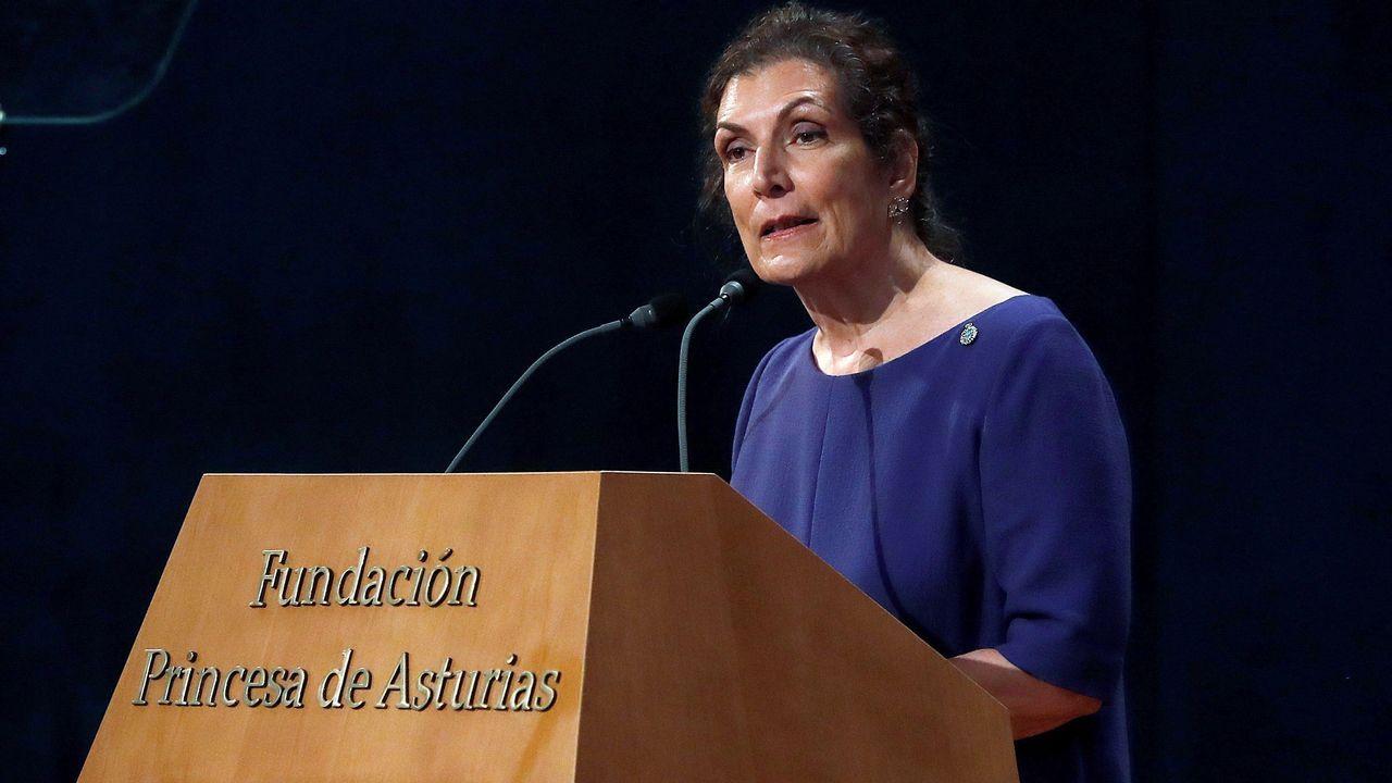 La periodista mexicana Alma Guillermoprieto, Premio Princesa de Asturias de Comunicación y Humanidades