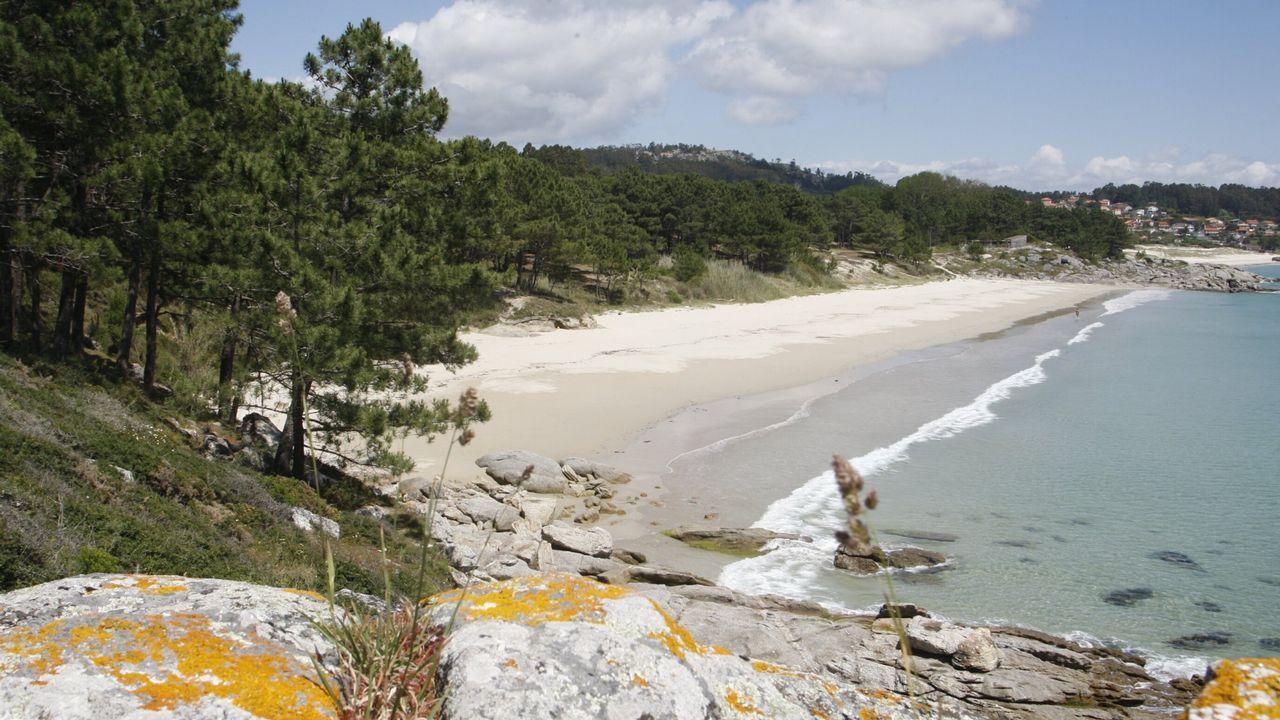 Otro paraíso natural, esta vez en Cangas acumula 1.037 menciones. Estamos en Barra