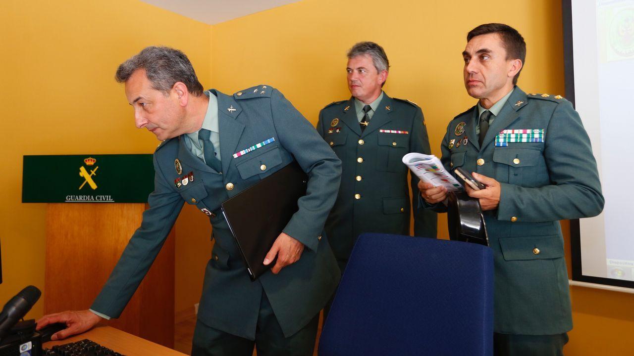 La Guardia Civil avanza las primeras impresiones sobre el accidente de Redondela