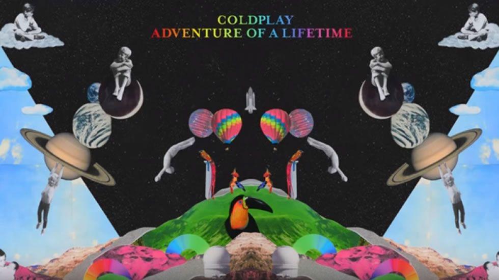 Así es «Adventures of a lifetime», la nueva canción de Coldplay.Un niño juega en la Fan Zone de San Francisco