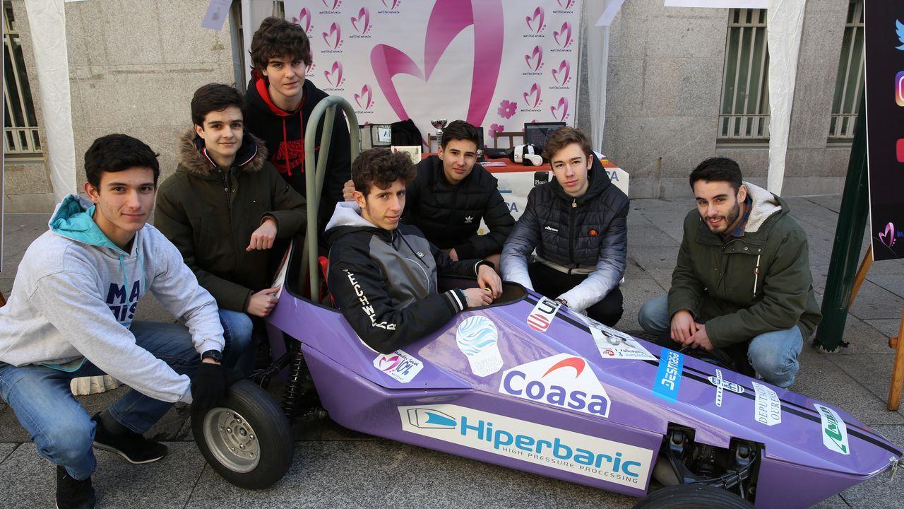 Proyecto Hiperbaric Challenger de alumnos de Maristas.Israel Pita actualmente reside en Málaga donde trabaja como celador de urgencias en una clínica