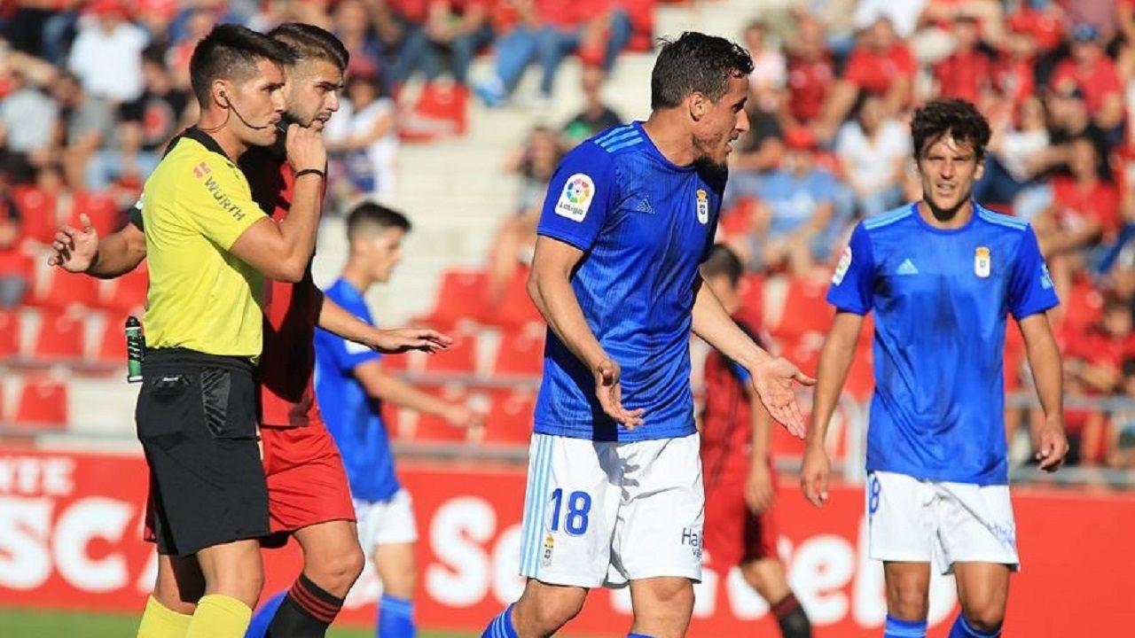 Christian Fernandez SangalliMiguel Ángel Ortiz Arias Mirandes Real Oviedo Anduva