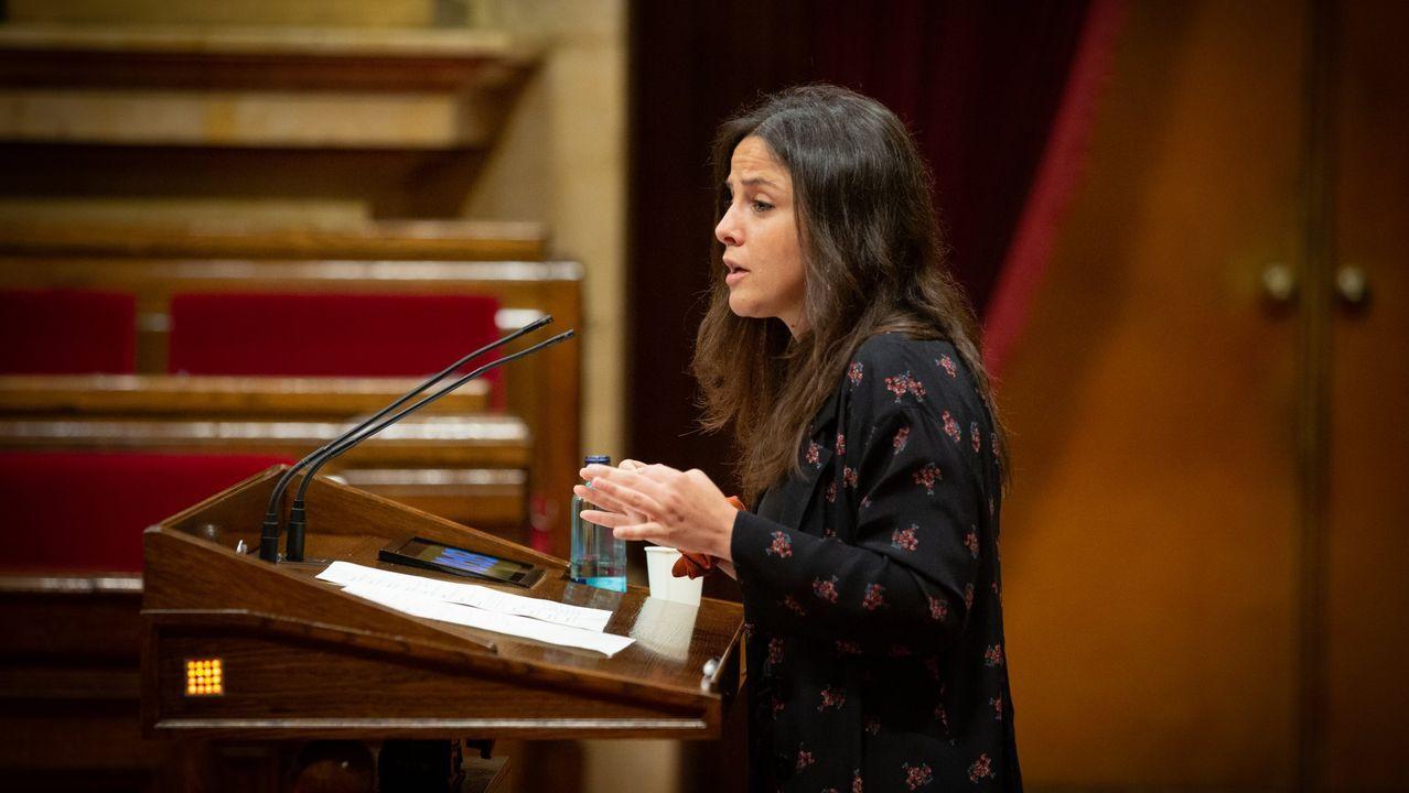 La diputada de la CUP María Sirvent
