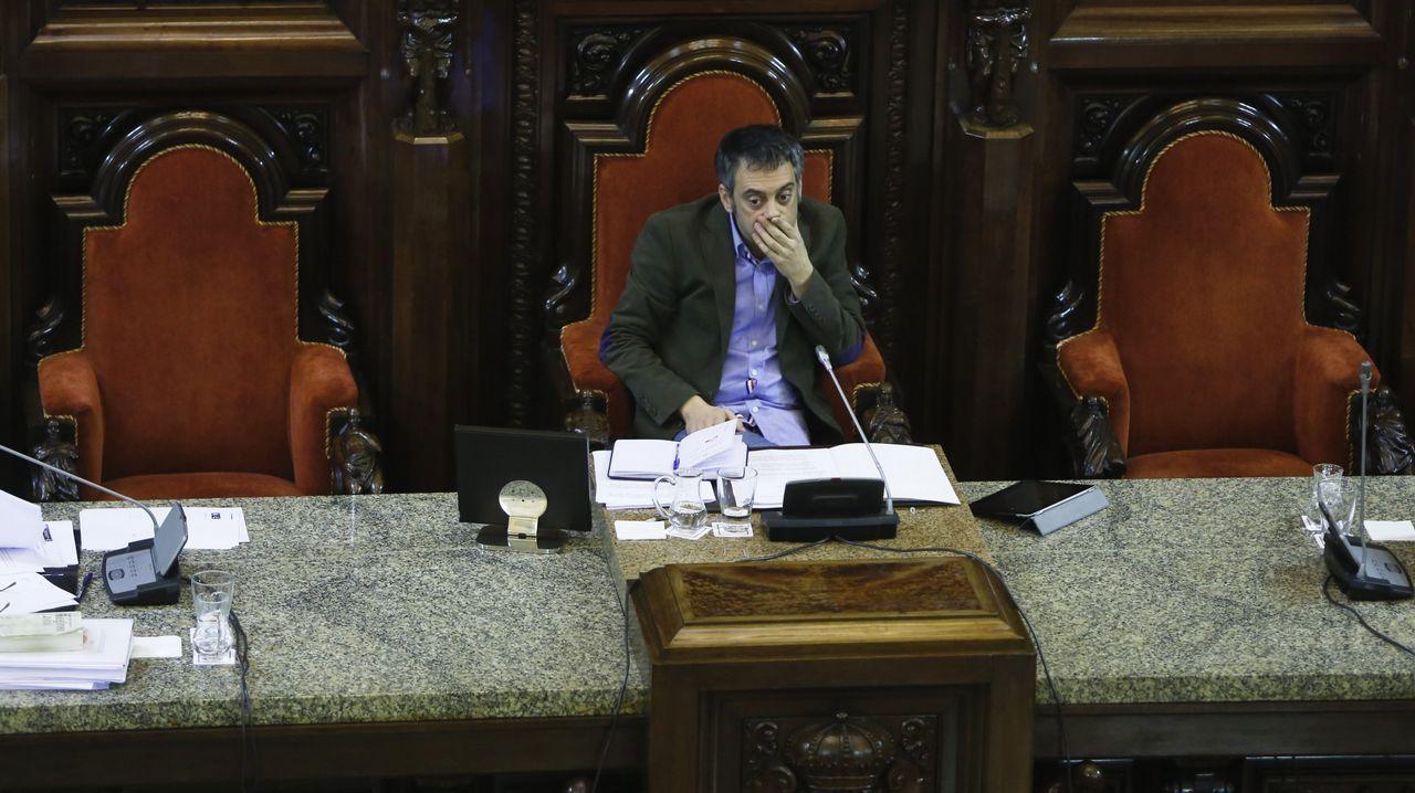 Presentación de los candidatos a alcaldes del PP en las 7 ciudades.Rueda de prensa de Núñez Feijoo tras el Consello de la Xunta