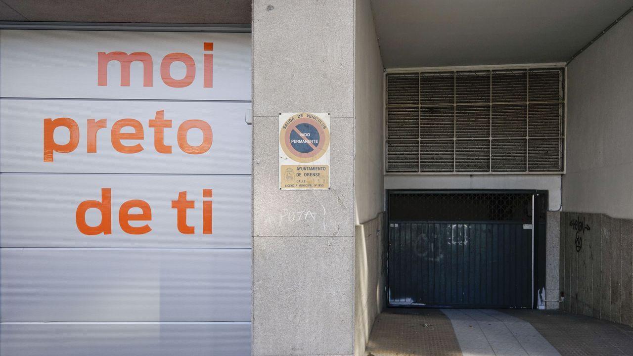 Los vados de la avenida de Zamora (en la foto, uno de ellos) no deben pagar, dice el exagente.