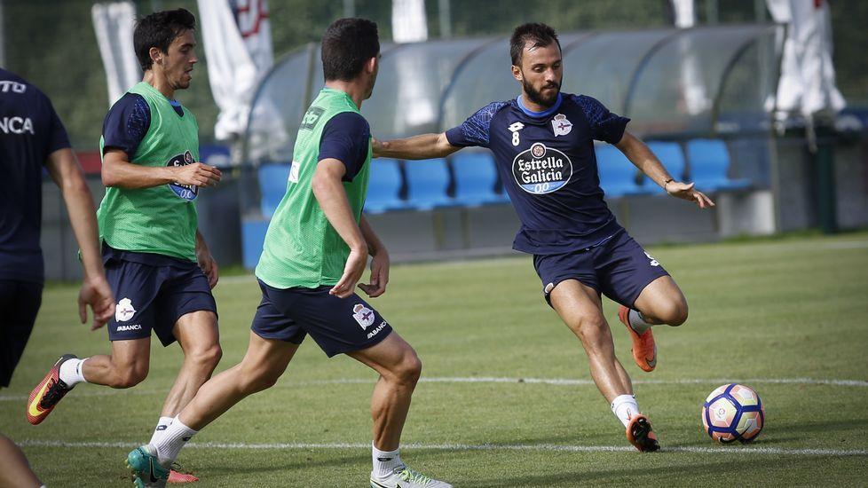 El Deportivo-Leganés, en fotos