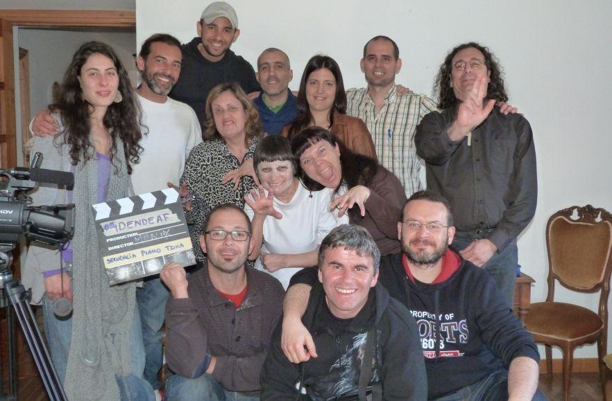 La asociación IDendeaf promueve la creación de contenidos audiovisuales para personas sordas.