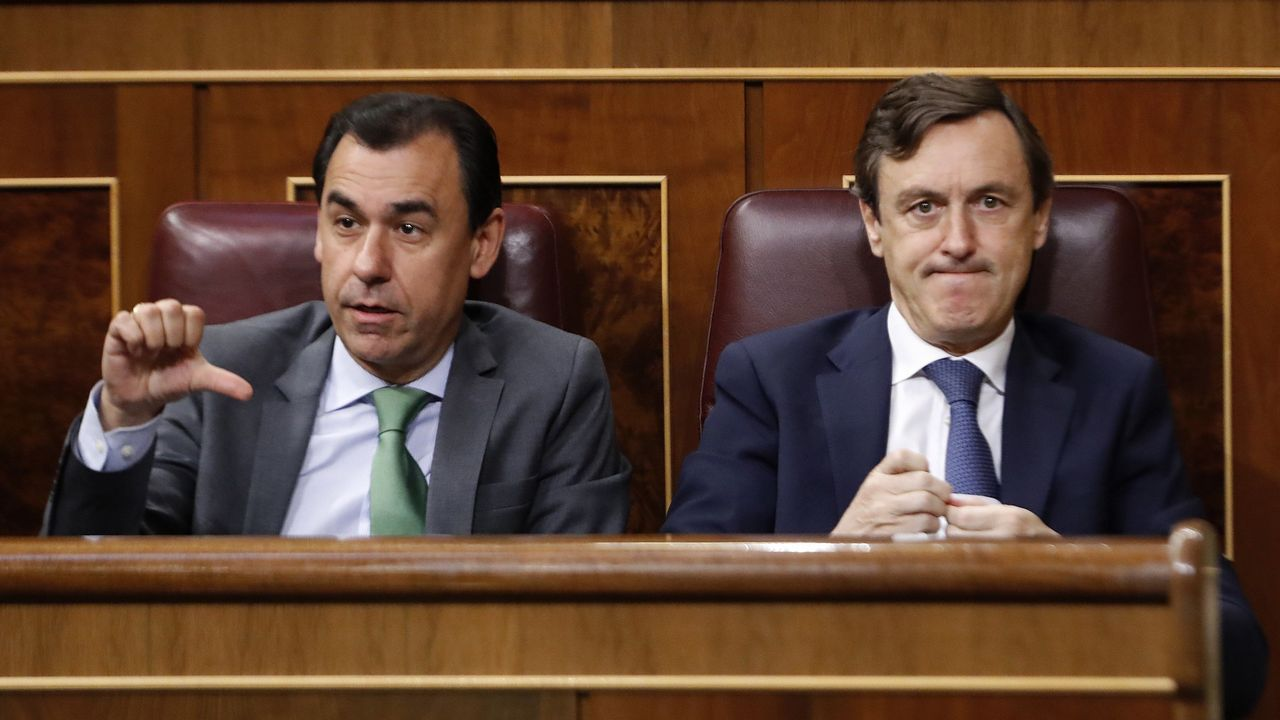 Fernando Martínez-Maíllo y Rafael Hernando.