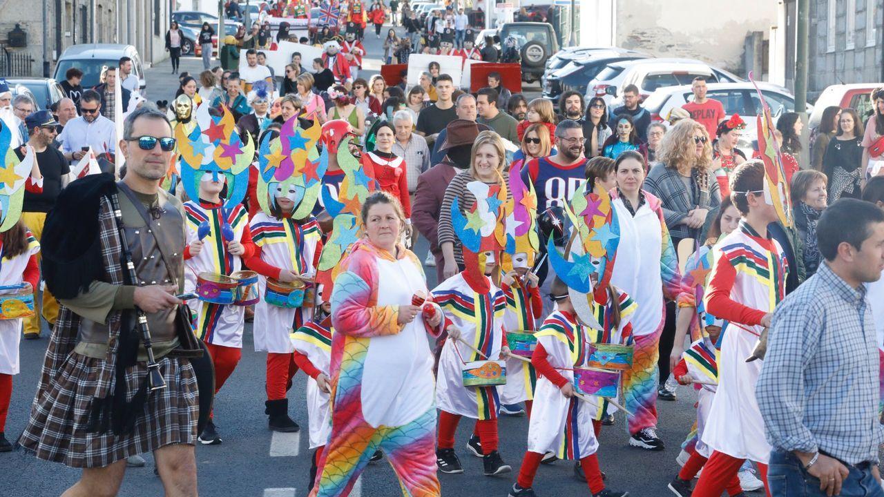 Desfile de Entroido en Castroverde.Faia ofrecerá un concierto en la Diputación
