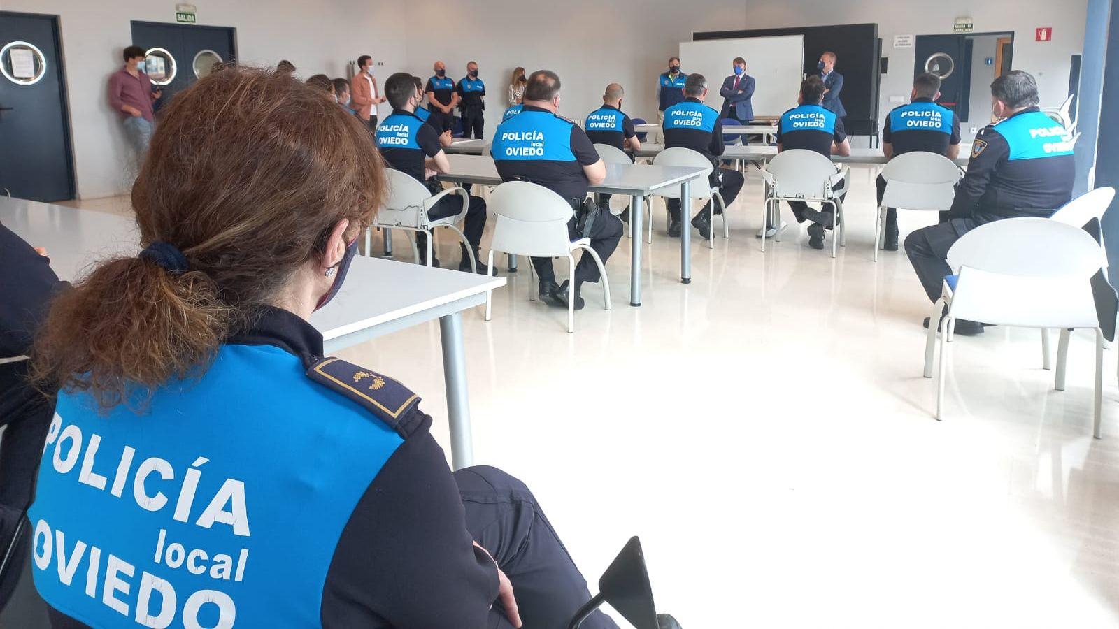 El Grupo de Intervención Rápida de la Policía Local inicia hoy una nueva formación sobre técnicas de actuación