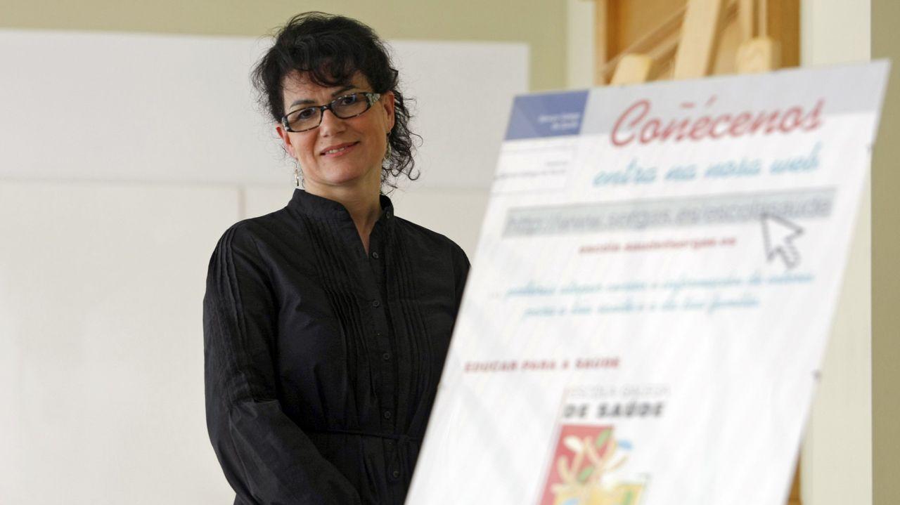 Lola Rico es fundadora de la Escuela de Saúde de A Limia