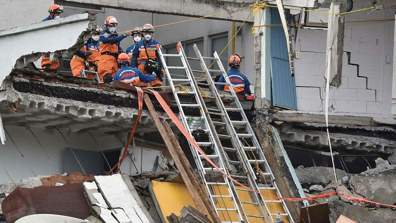 Efectivos de la UME se desplazan a México para colaborar en las tareas de rescate.Más de 470 personas perdieron su vida en un terremoto cuyos daños tendrán un coste de mas de 1.800 millones de euros