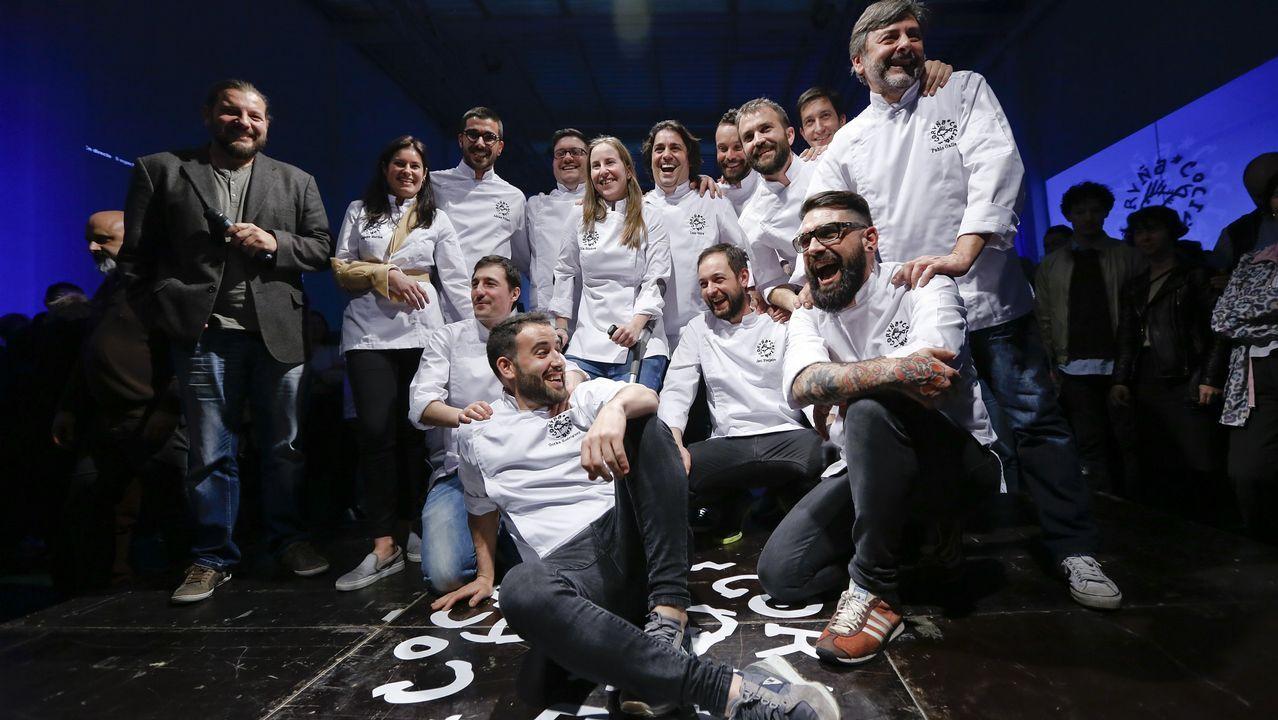 forum domingo.Miembros del colectivo Coruña Cociña.