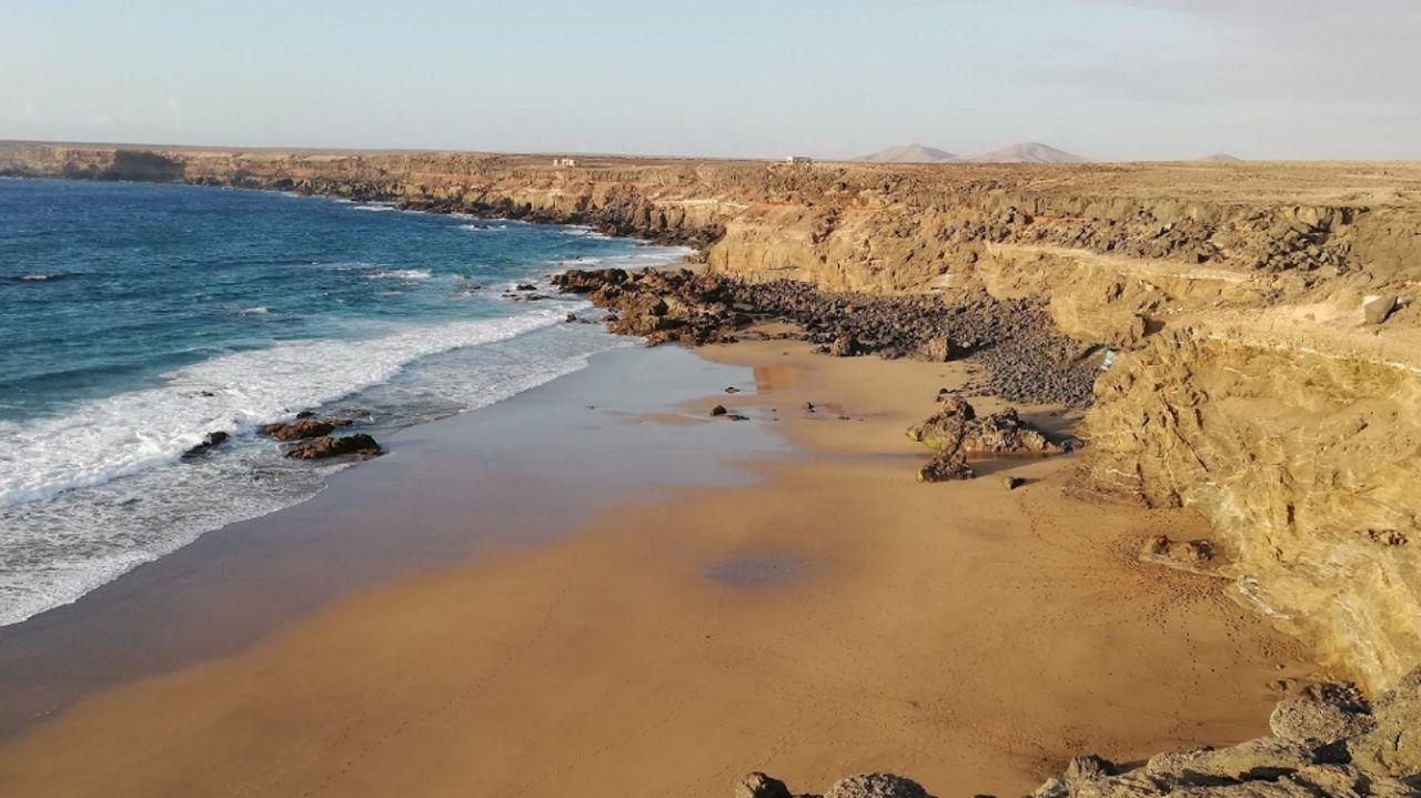 La playa de Tebeto, en una imagen de Google Maps