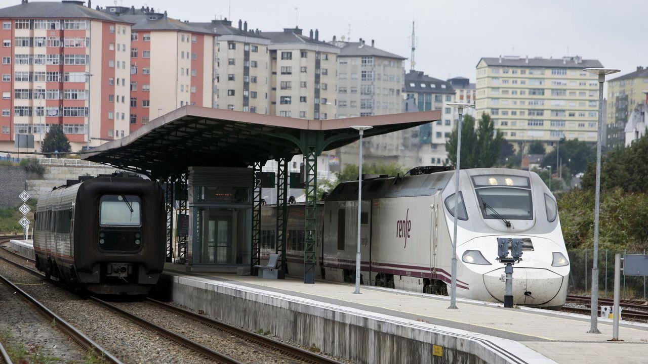 Así será la nueva estación de autobuses de Vigo.PUERTO EXTERIOR DE PUNTA LANGOSTEIRA