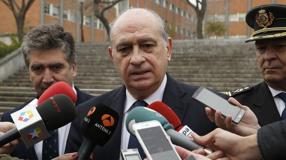 Fernández Díaz: «ETA está esperando como agua de mayo un Gobierno del PSOE con Podemos»