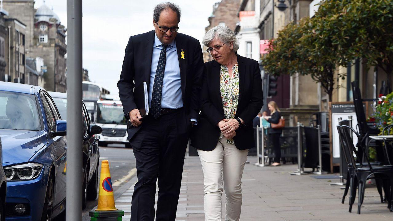 Torra visitó este miércoles en Edimburgo a la exconsejera Ponsatí, para quien el independentismo «iba de farol»