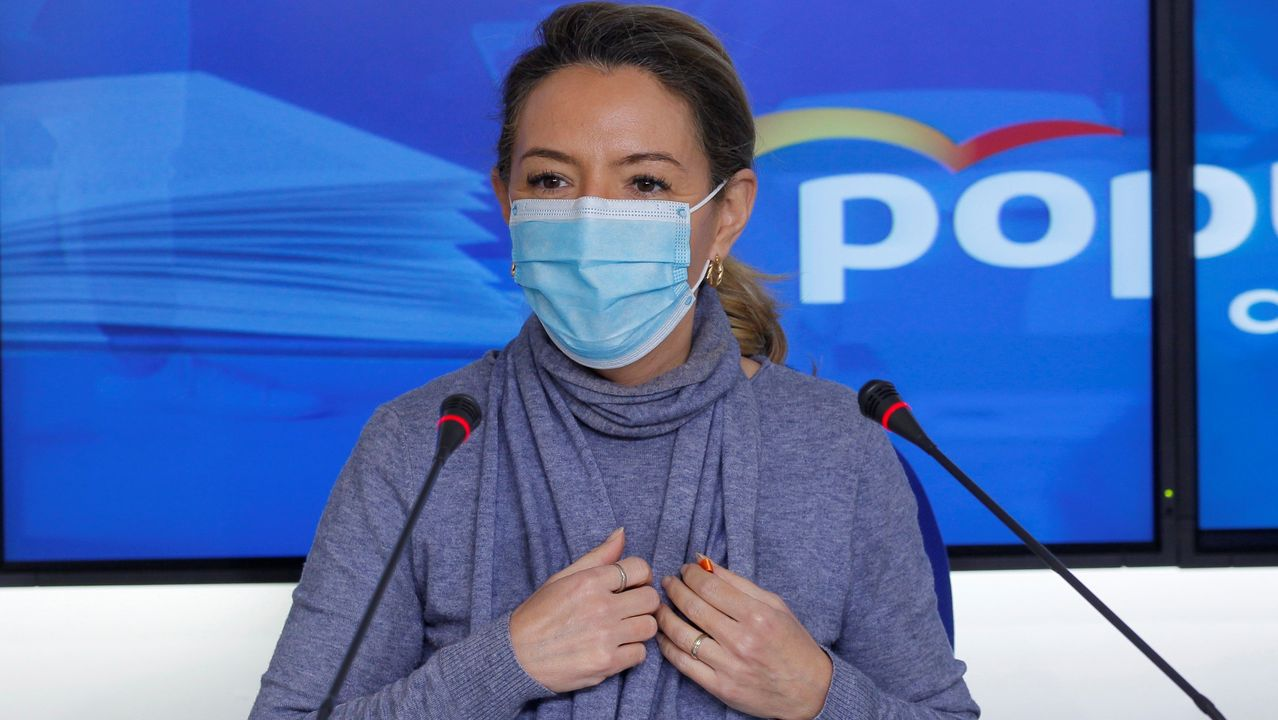 La presidenta del Partido Popular en el Principado, Teresa Mallada
