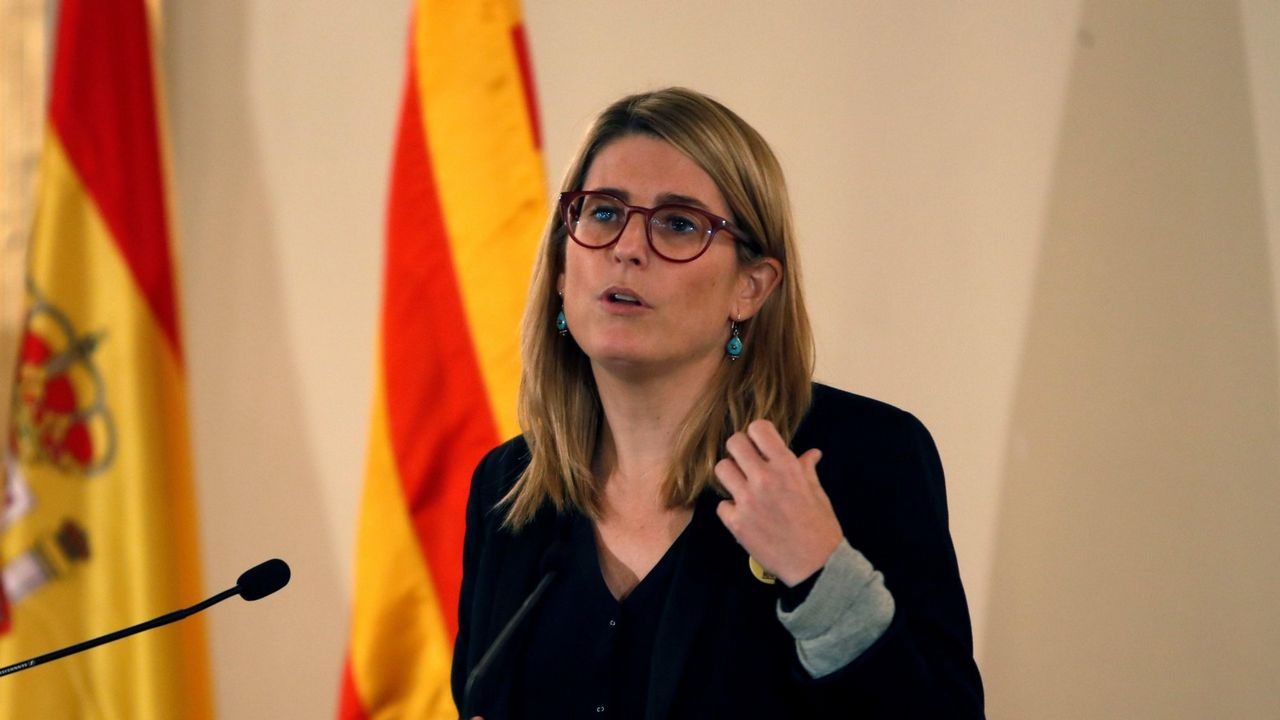 La consellera de Presidencia de la Generalitat, Elsa Artadi