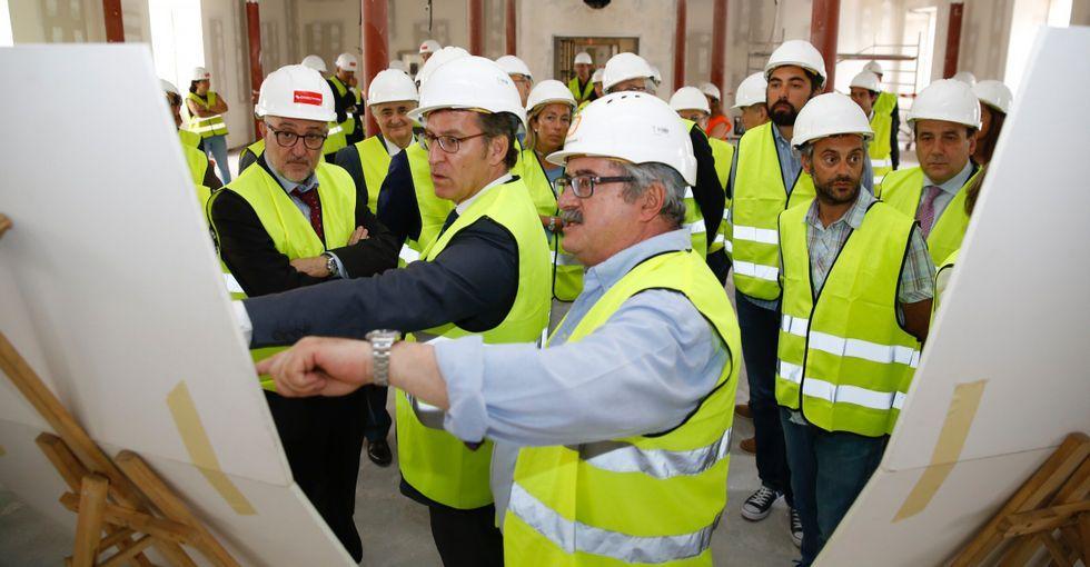 El proyecto municipal para elantiguo convento y Tabacalera.Sergio Álvarez, presidente de la asociación vecinal Gigia