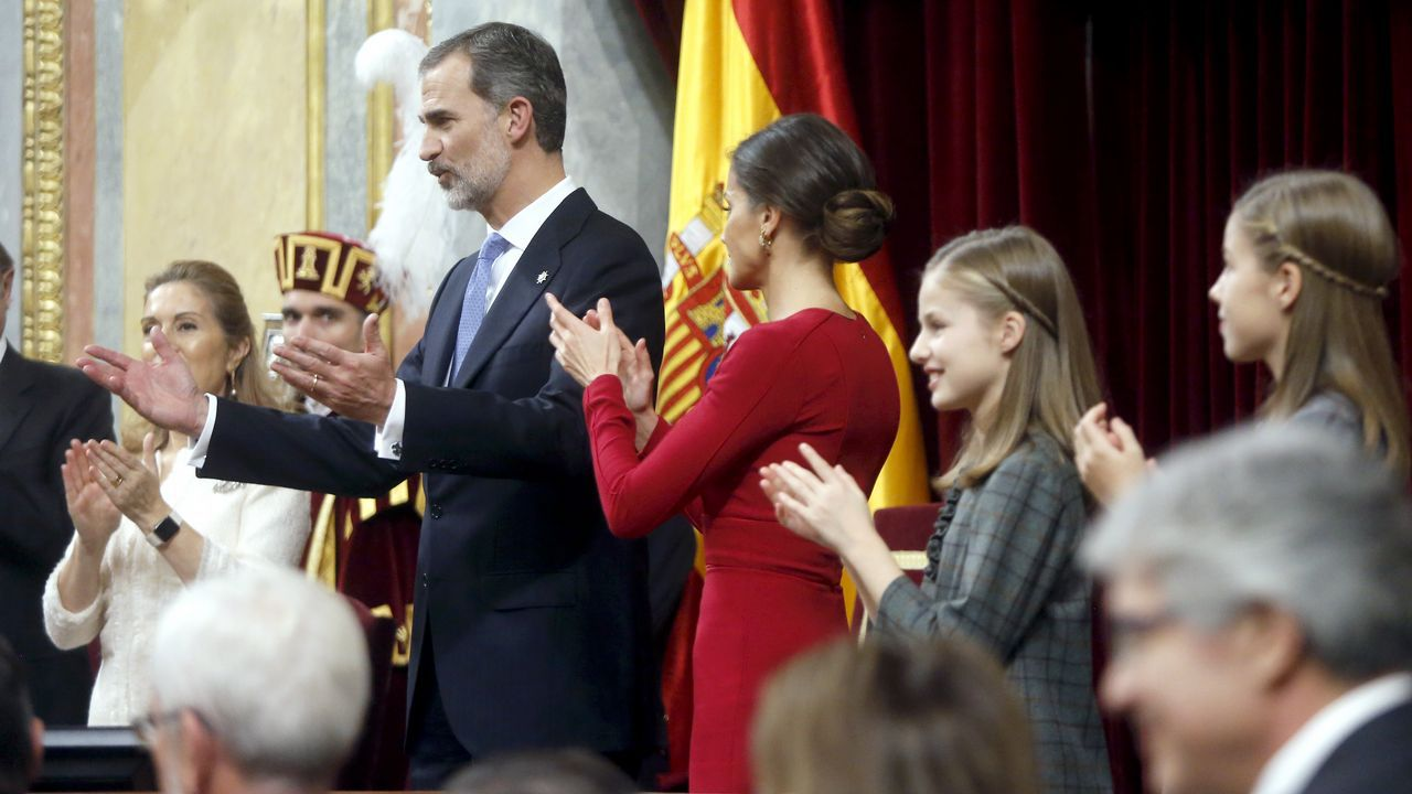 Todas lasimágenes de los actos del Día de la Constitución.Cristina Coto