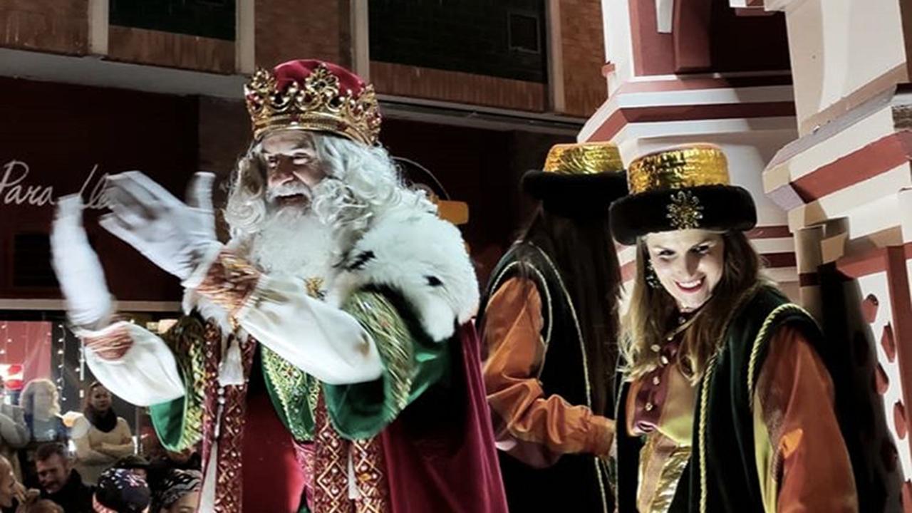 Obras en la variante de Pajares.Cabalgata de Reyes de Gijón