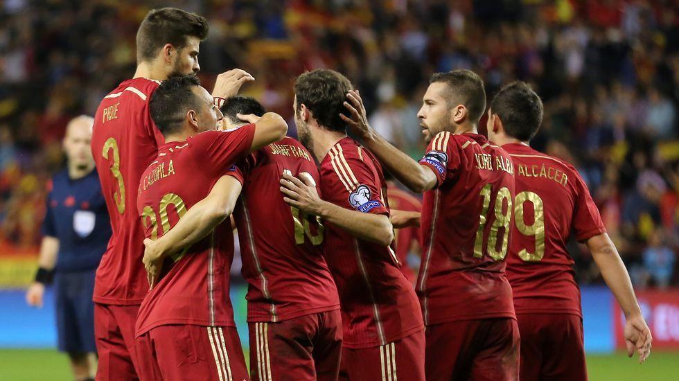La victoria de España en fotos