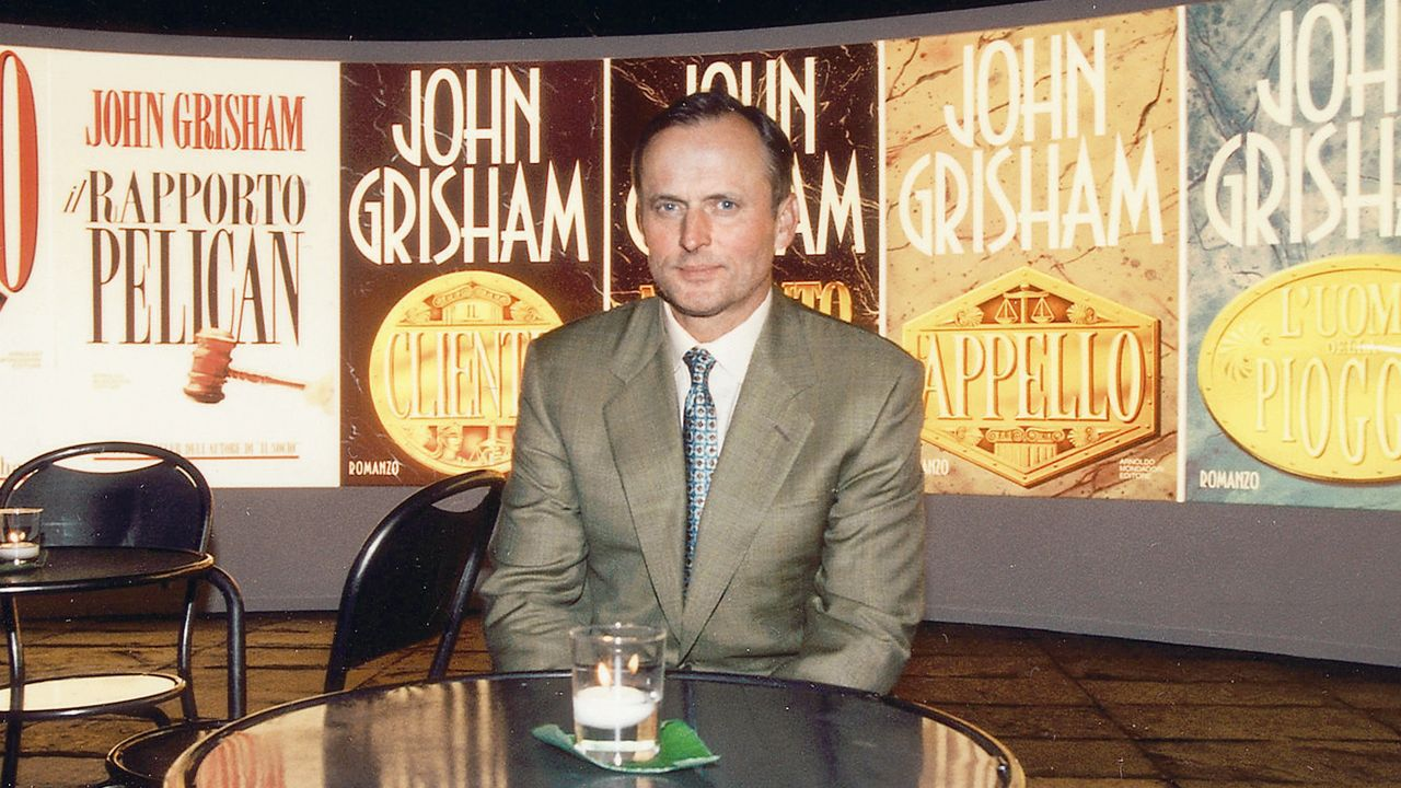 El escritor John Grisham