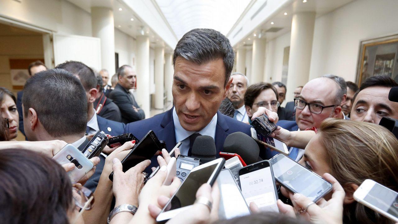 Rivera cuestiona la tesis doctoral de Pedro Sánchez.María Luisa Carcedo