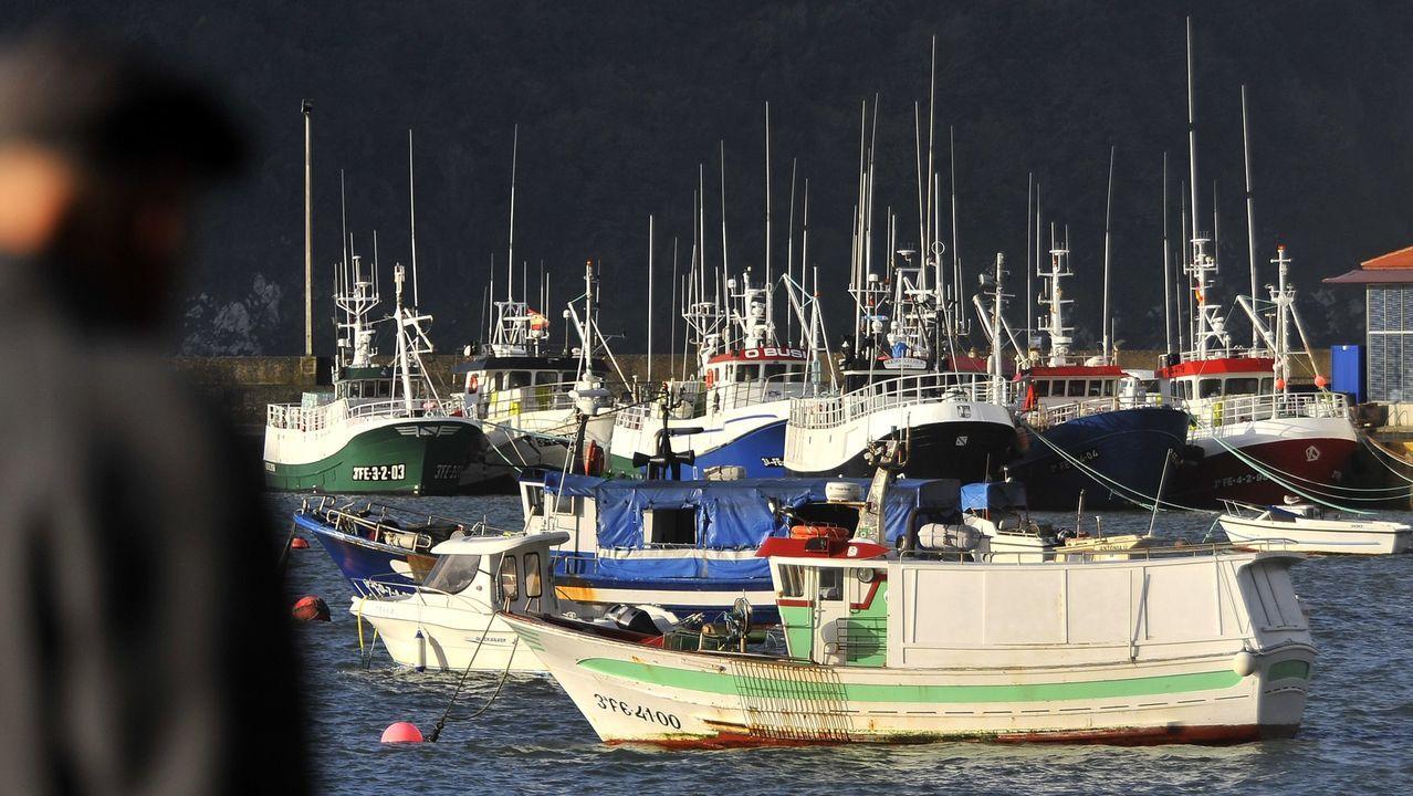 .Vista de A Cabana, en Ferrol, uno de los núcleos del municipio con menos de cinco mil habitantes