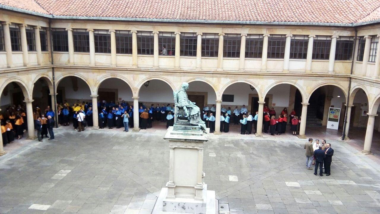 Descubrimiento cervantino en la Universidad de Oviedo.Universidad de Oviedo